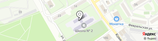 Центр информационного и технического обеспечения на карте Краснокамска