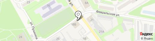 Магазин лакокрасочных материалов на карте Краснокамска