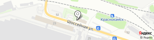 Анира на карте Краснокамска