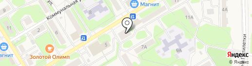 Агентство недвижимости на карте Краснокамска