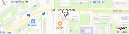 Банкомат, Банк ВТБ 24, ПАО на карте Краснокамска
