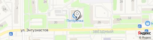 АктивДеньги на карте Краснокамска
