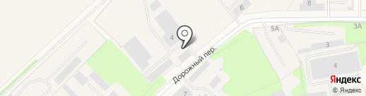 Уральский завод противогололедных материалов на карте Краснокамска