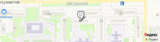 Радуга на карте Краснокамска