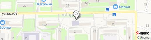 Центральная городская библиотека на карте Краснокамска