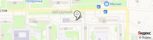 Планета здоровья на карте Краснокамска