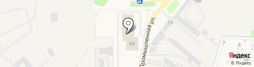 Меридиан на карте Краснокамска