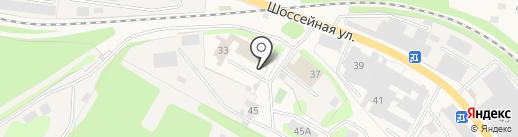 Управление надзорной деятельности и профилактической работы на карте Краснокамска