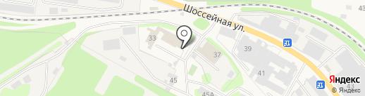 Пожарная часть №11 на карте Краснокамска