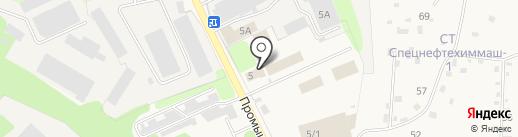 Водоканал, МУП на карте Краснокамска