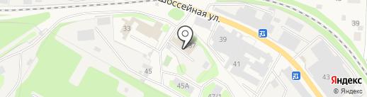 Папир на карте Краснокамска