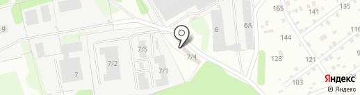 Реабилитационный центр 12 на карте Краснокамска