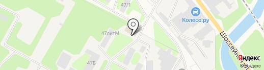 ПКНМ на карте Краснокамска