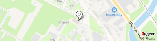 ЛМК Конструктор на карте Краснокамска