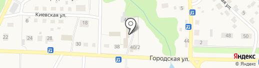 Фирма ритуальных услуг на карте Краснокамска