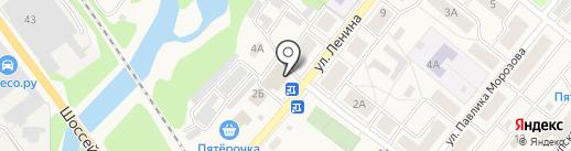Шаурма Сити на карте Краснокамска