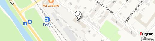 Элит на карте Краснокамска