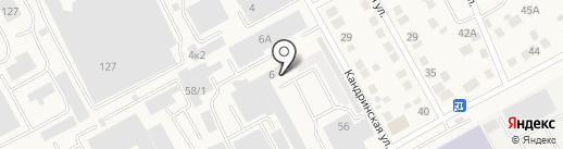 AvtoRazborX-Motors на карте Уфы