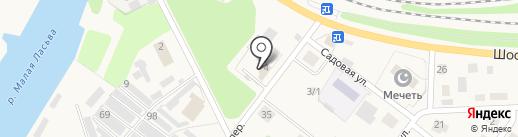 Клуб Рейд на карте Краснокамска
