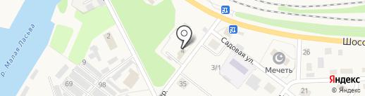 Шиномонтажная мастерская на карте Краснокамска