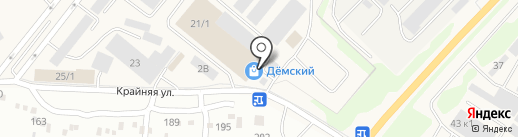 Производственно-торговая компания на карте Уфы