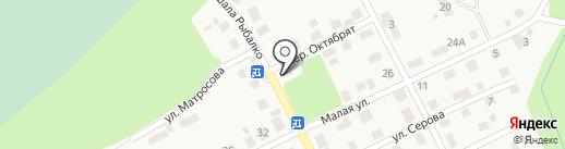 У дома на карте Краснокамска