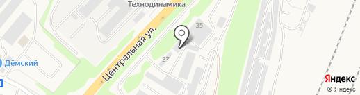 Строитель на карте Уфы