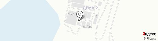 SLAVная плитка на карте Уфы