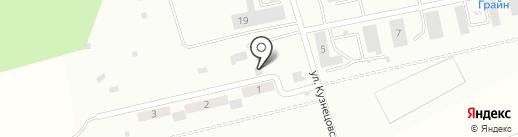 Городок на карте Нижегородки