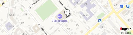 Фреш-бар на карте Уфы