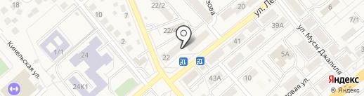 Архивная компания на карте Уфы