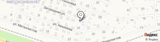 Авоська на карте Краснокамска