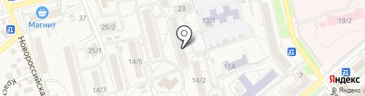 Салон на карте Уфы