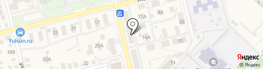 Магазин одежды и нижнего белья на карте Уфы