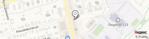 Для Вас на карте Уфы