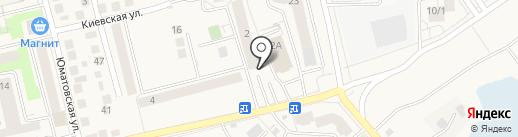 Куединский пекарь на карте Уфы