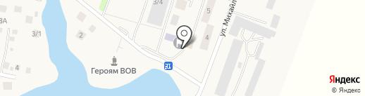 Динара на карте Миловки