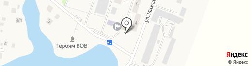 Банкомат, Сбербанк, ПАО на карте Миловки