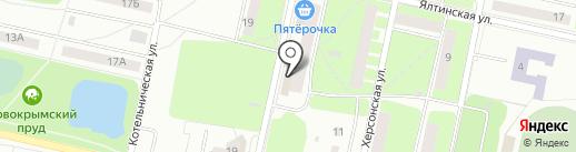Незабудка на карте Перми
