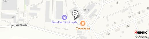 Техсервис на карте Нижегородки