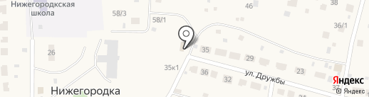 Аптечный пункт на карте Нижегородки