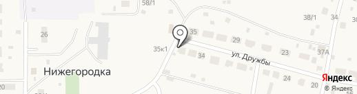 Продовольственный магазин на карте Нижегородки