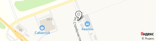 ЛесОптТорг на карте Михайловки