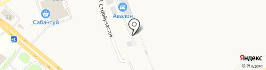 Пилот на карте Михайловки