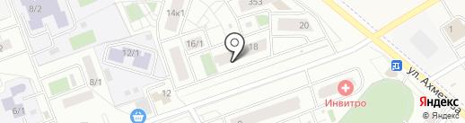 Магазин белья и колготок на карте Уфы