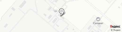 Пожарная часть №49 на карте Салавата
