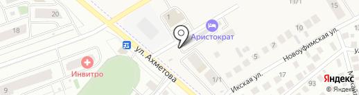 БетарУфа на карте Михайловки