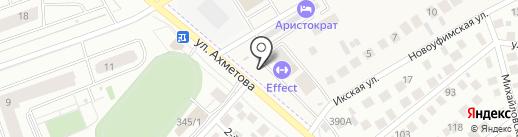 Затонский Доктор на карте Михайловки