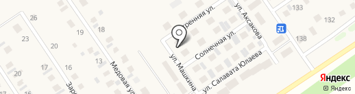 Малоэтажное строительство на карте Новой Отрадовки