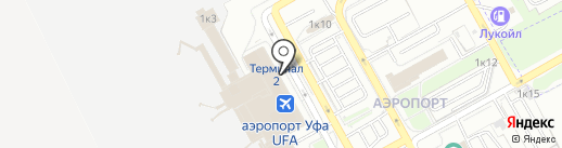Сбербанк, ПАО на карте Уфы